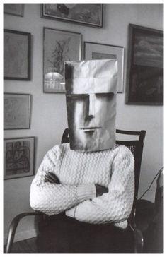 paper bag face